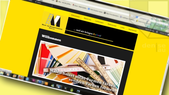 Website der Maler- und Hausmeister Service Lau